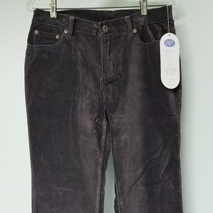 DG2 Diane Gilman Velvet Jeans Grey Sz 6P
